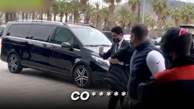 VIDEO - L'accueil houleux des Catalans aux joueurs parisiens