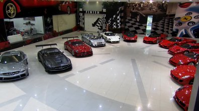 Teaser Automoto : la plus belle collection de supercars au monde