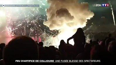 Collioure : neuf personnes blessées par une fusée de feu d'artifice