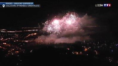 Collioure : une fusée de feu d'artifice blesse neuf personnes
