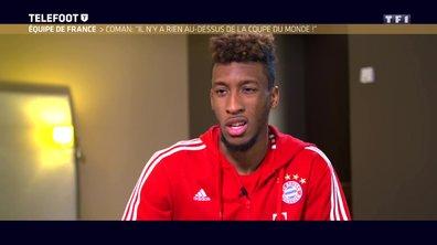"""[EXCLU Téléfoot 03/12] - Coman revient sur le départ d'Ancelotti du Bayern : """"L'équipe allait moins bien, il y avait un peu de tension en interne"""""""