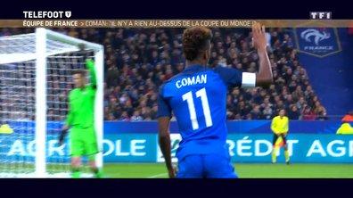 """[EXCLU Téléfoot 03/12] - Equipe de France / Coman : """"Je ne pense pas que beaucoup de joueurs sont sûrs d'être à la Coupe du monde"""""""