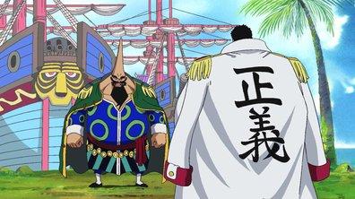 649- Le combat se termine. Lucy contre Chinjao ! - One piece
