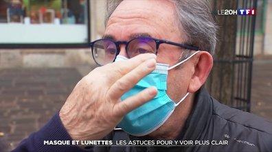 Comment éviter d'avoir de la buée sur ses lunettes avec un masque