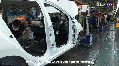 Comment l'usine Renault de Flins va se spécialiser dans les voitures d'occasion