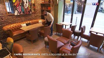 Comment les cafés et les restaurants se préparent-ils pour la réouverture ?