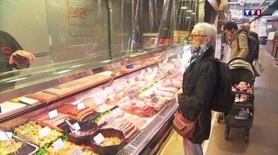 Comment s'est déroulée la réouverture du marché de Talensac à Nantes ?