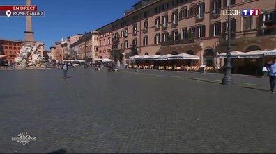 Comment vit-on l'épidémie de coronavirus à Rome ?