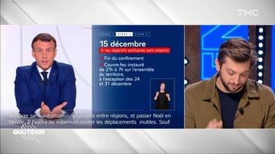 Commerces, déconfinement, couvre feu, vaccin : ce qu'il faut retenir des dernières annonces d'Emmanuel Macron