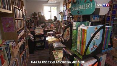 """Commerces """"non-essentiels"""" : elle se bat pour sauver sa librairie"""
