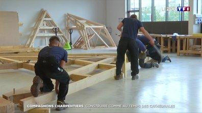 Compagnons charpentiers : construire comme au temps des cathédrales