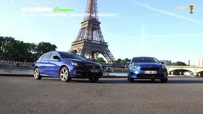 Comparo - Kia Ceed vs Peugeot 308 : Quelle est la meilleure ?