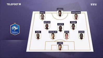La composition probable de l'Equipe de France face à l'Irlande