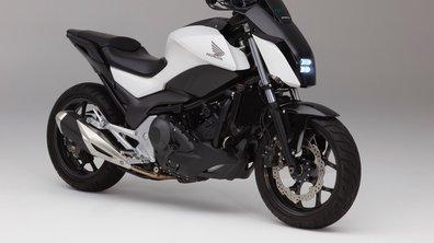 CES 2017 : Adieu la béquille, Honda présente une moto qui s'équilibre toute seule