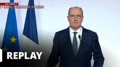 Conférence de presse du Premier Ministre Jean Castex du 27 août 2020