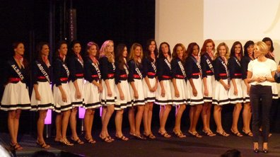 Miss France 2012 : Les Miss en pleines répétitions à Brest (VIDEO)