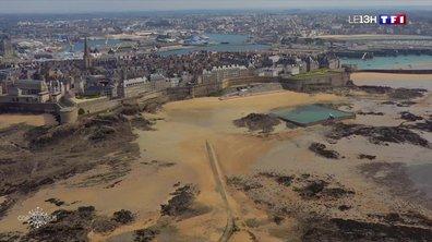 Confinement à Saint-Malo : un grand bol d'air au bord de la mer