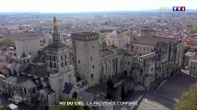 Confinement : Avignon vu du ciel