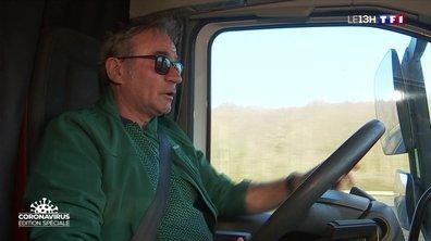 Confinement : comment se déroulent les journées des chauffeurs routiers et des éboueurs ?