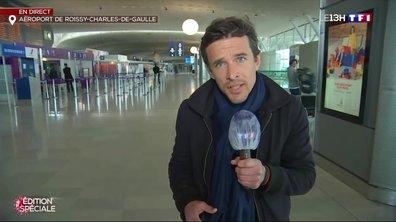 Confinement : comment se porte l'aéroport de Roissy ?