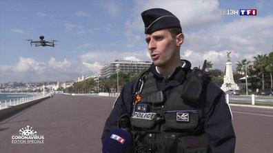 Confinement : des drones pour surveiller la ville de Nice