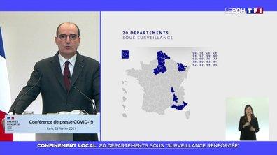 """Confinement local : 20 départements sous """"surveillance renforcée"""""""
