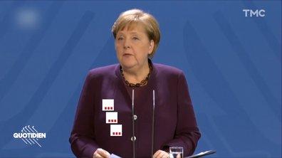 Confinement : toute l'Europe s'y met, mais c'est Angela Merkel qui en parle le mieux
