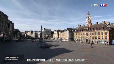 Confinement : une France presque à l'arrêt