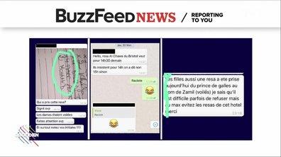Les conversations Whatsapp du personnel de l'Avenue, accusé de racisme