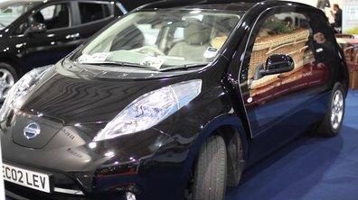 Insolite : Une Nissan Leaf transformée en corbillard !