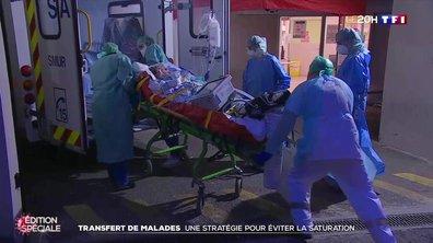Coronavirus : 36 patients transférés du Grand Est vers la Nouvelle-Aquitaine