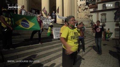 Coronavirus au Brésil : la bourse ou la vie