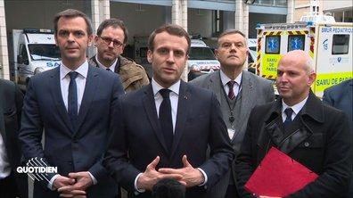 Coronavirus : comment Emmanuel Macron est-il protégé ?