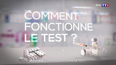 Coronavirus : comment fonctionne le test de dépistage ?