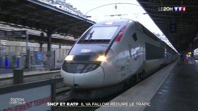 Coronavirus : comment la RATP et la SNCF s'adaptent