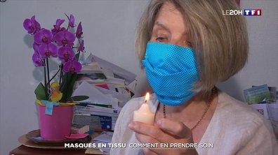 Coronavirus : comment prendre soin des masques en tissu ?
