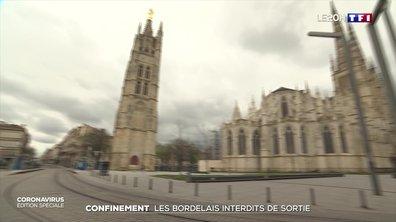 Coronavirus : des rues quasi-désertes à Bordeaux au premier jour de confinement