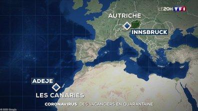 Coronavirus : des touristes confinés dans les Canaries et en Autriche