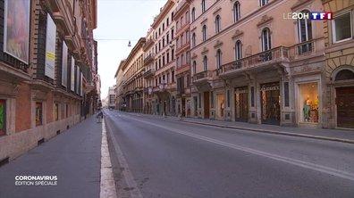 Coronavirus : en Italie, même les commerces ont tiré le rideau