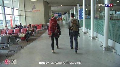 Coronavirus : l'aéroport de Roissy déserté