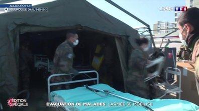 Coronavirus : l'armée se mobilise pour l'évacuation de malades