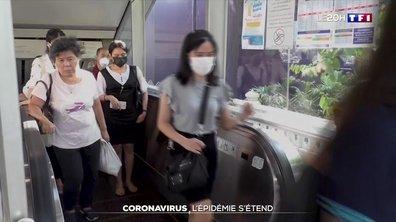 Coronavirus : l'épidémie s'étend