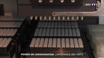 Coronavirus : l'importance des tests pour identifier les foyers de contamination