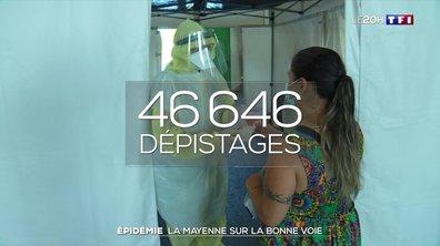 Coronavirus : la Mayenne sur la bonne voie