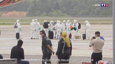 Coronavirus, la pandémie s'étend