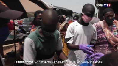 Coronavirus : la population d'Abidjan s'en remet aux guérisseurs