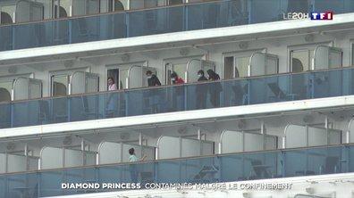 """Coronavirus : le calvaire des touristes cloîtrés depuis dix jours sur le """"Diamond Princess"""""""