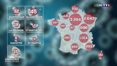 Coronavirus : le nombre de malades continue d'augmenter dans les régions
