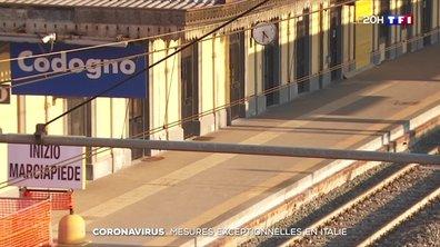 Coronavirus : le nord de l'Italie se barricade