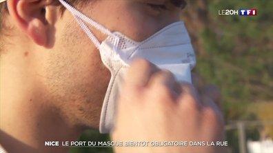 Coronavirus : le port du masque bientôt obligatoire à Nice
